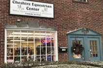 Cheshire Equestrian Center, Cheshire, CT, front of store on Main Street, Route 10