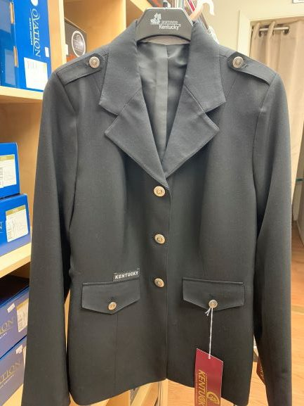 Kentucky Dressage show jacket specials and close out discounts at CT tack shop