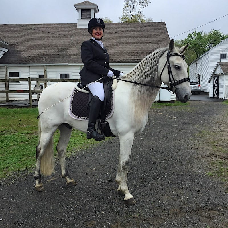 Carol DiCarlo, owner of Cheshire Equestrian Center, on Modico