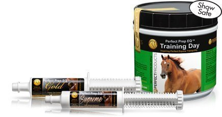 Perfect Prep horse calming products at Cheshire Equestrian Center your CT tack shop.