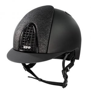 KEP Italia black front test helmet